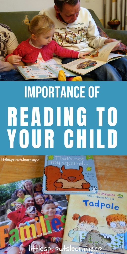 The more you read and the earlier you start, the better for children's learning. Discover the importance of reading to your child.