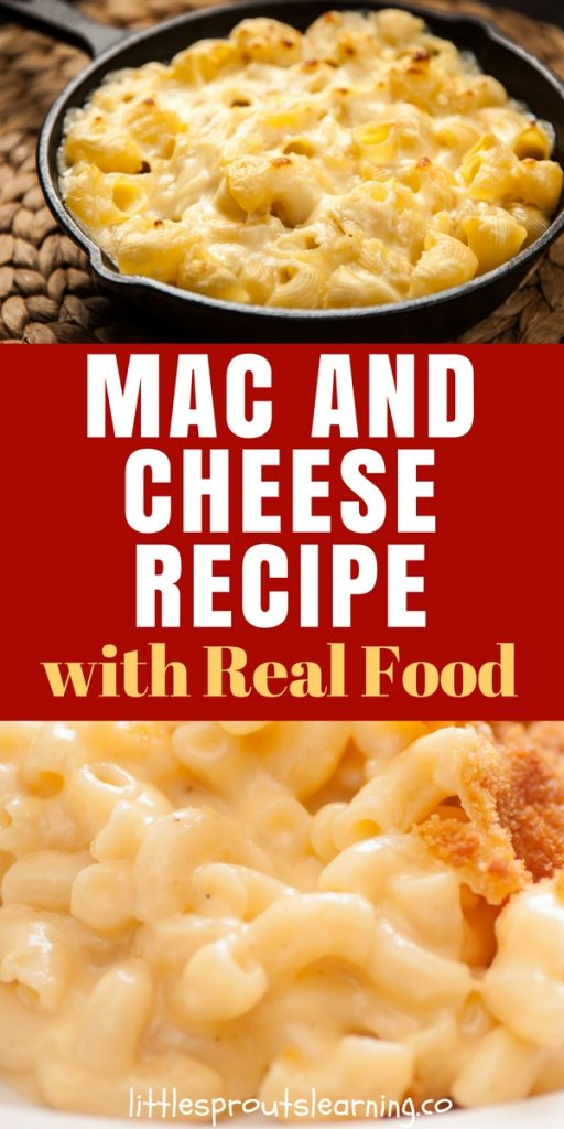 Mac and Cheese Recipe with Real Food