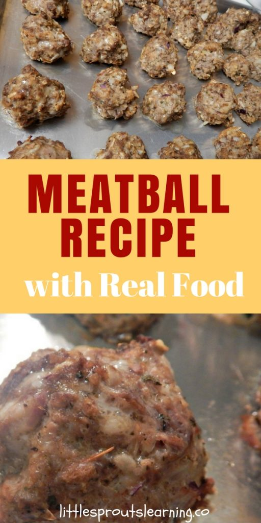 Meatball Recipe with Real Food