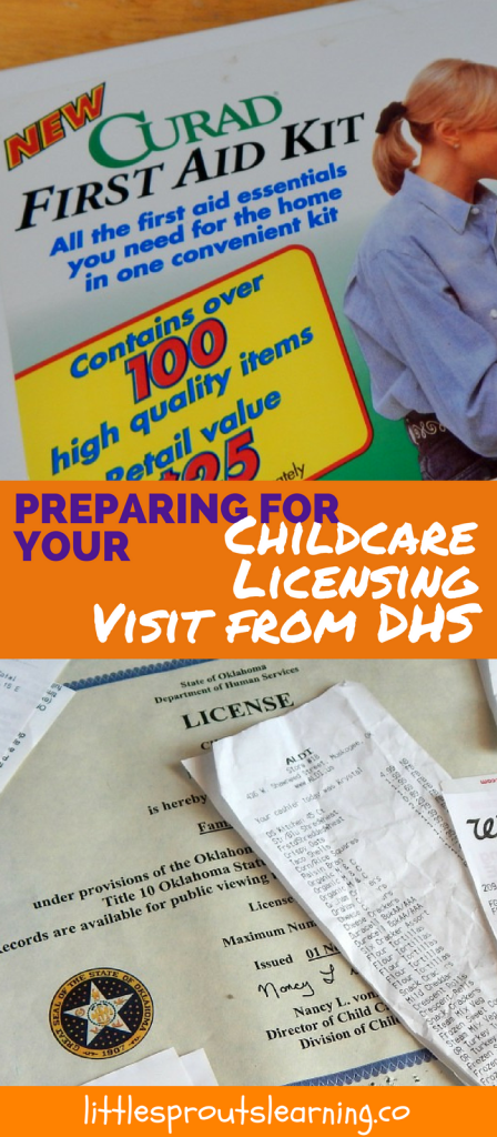Preparing for your Childcare Licensing Visit from DHS