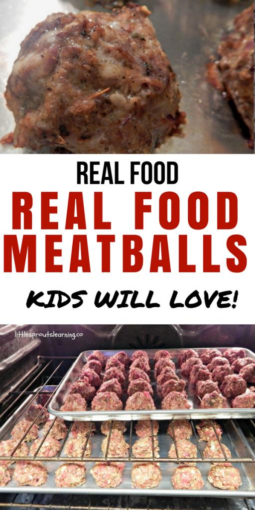 Real Food Meatballs