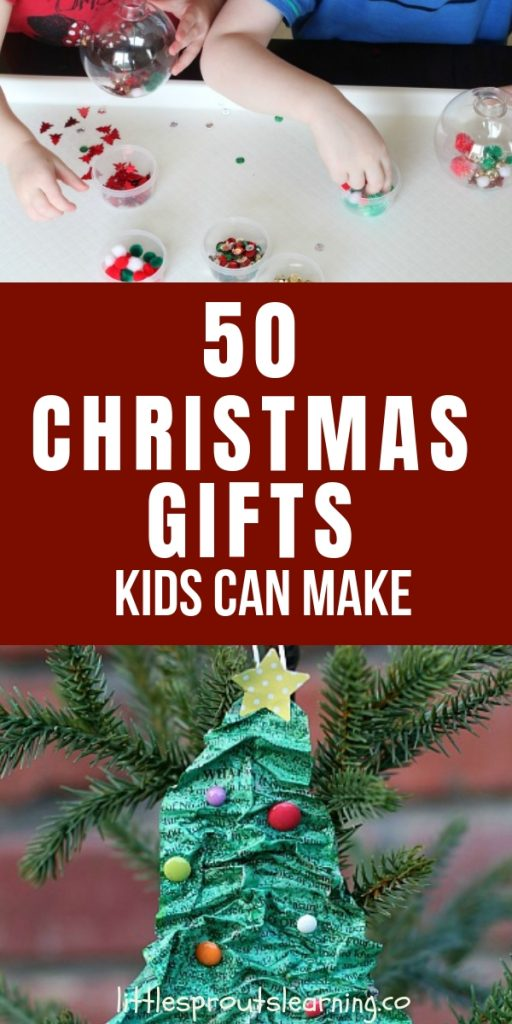 Finding Christmas gifts kids can make can be a challenge sometimes. Making gifts for parents is a fun way to teach kids to be givers.