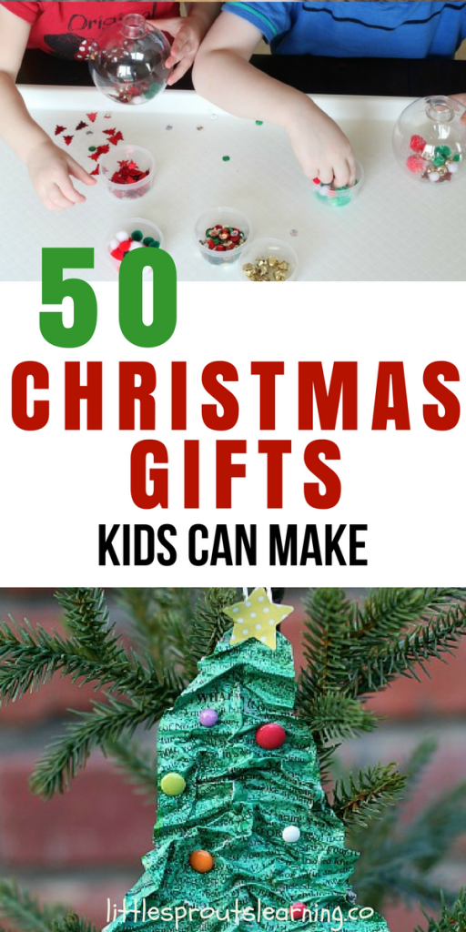 50 Christmas Gifts Kids Can Make. Find out more!