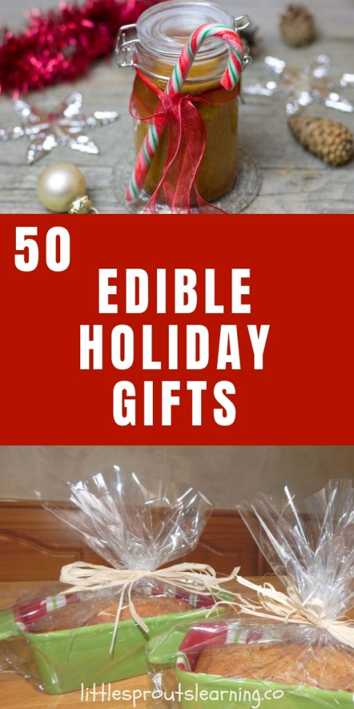 Christmas time can come at a great price to the environment. I love giving homemade food as edible Christmas gifts because I know the gift can be consumed.