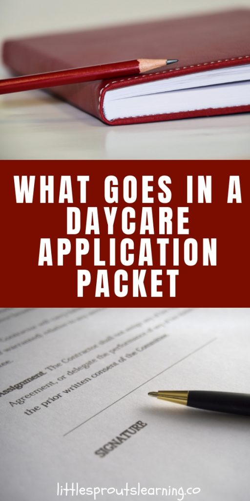 There is so much paperwork required to enroll a new child in your daycare. Check out this daycare application packet for what it should include.