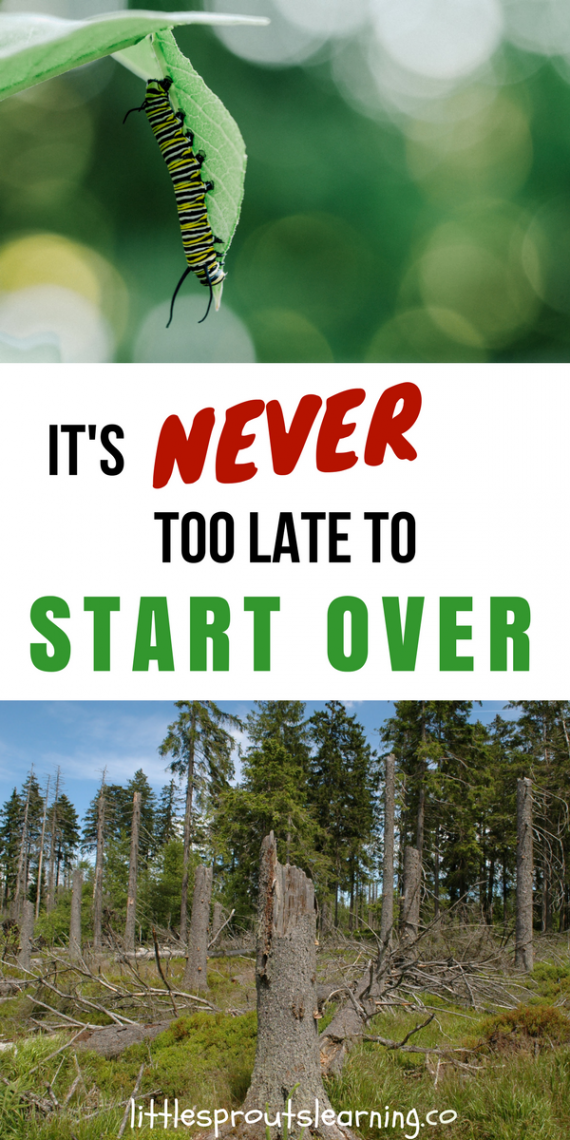 it u0026 39 s never too late to start over