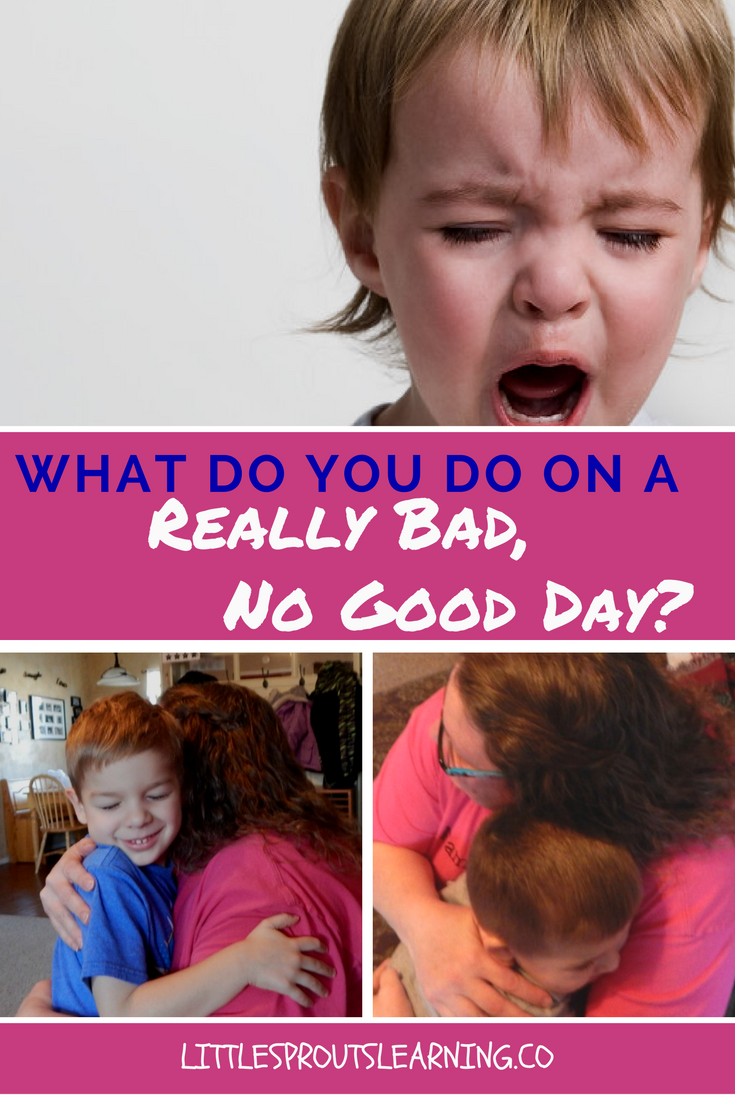 What Do You Do On a Really Bad, No Good Day?