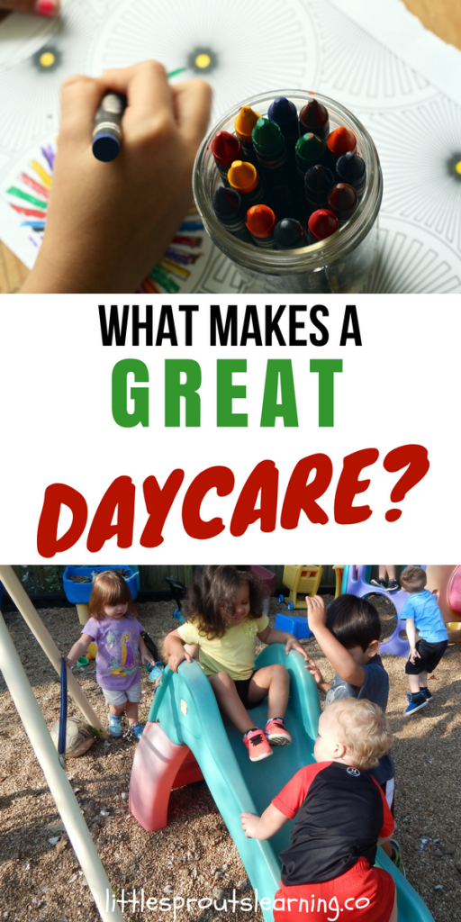 What Makes a Great Daycare?