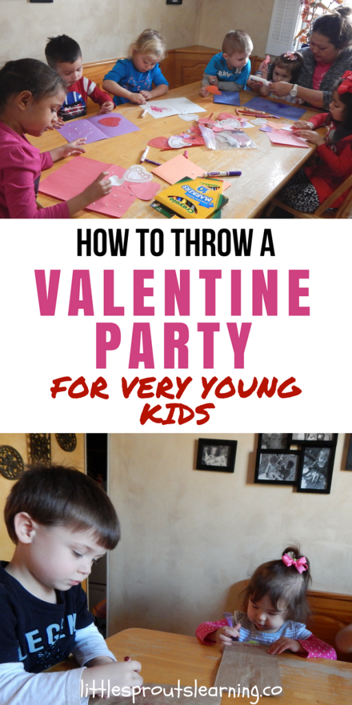 Valentines Kids Party Ideas for Very Young Kids