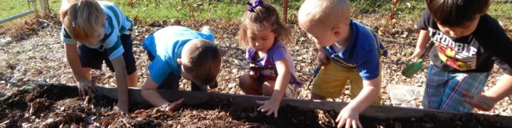 What could be more fun than a sensory garden for kids? Kids NEED sensory stimulation for development.