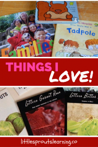 A few of my favorite things I use for childcare and parenting and my everyday family life.
