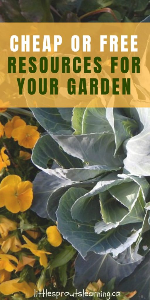 Gardening can be an expensive hobby or an inexpensive way to produce top quality food. Look for cheap or free garden resources and here's how.