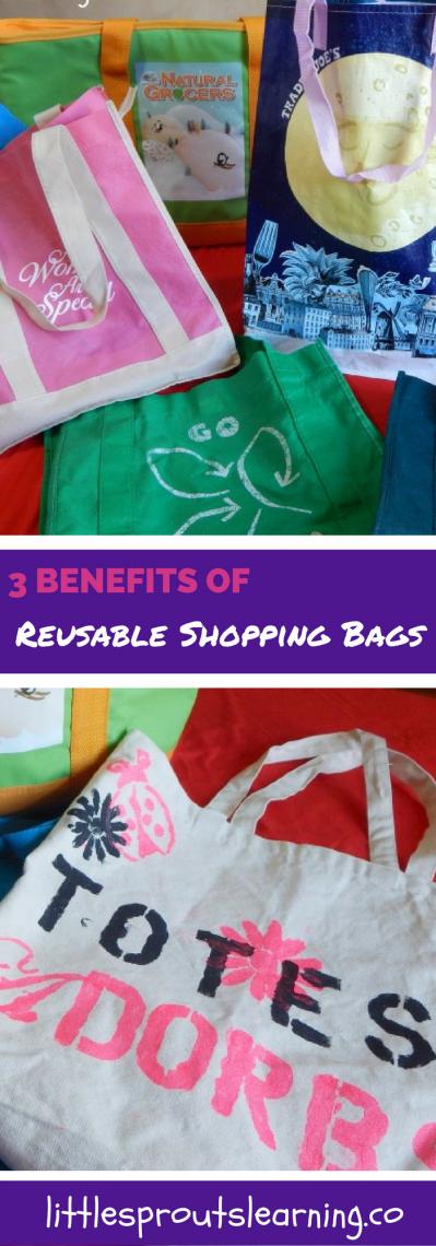 3 Benefits of Reusable Shopping Bags