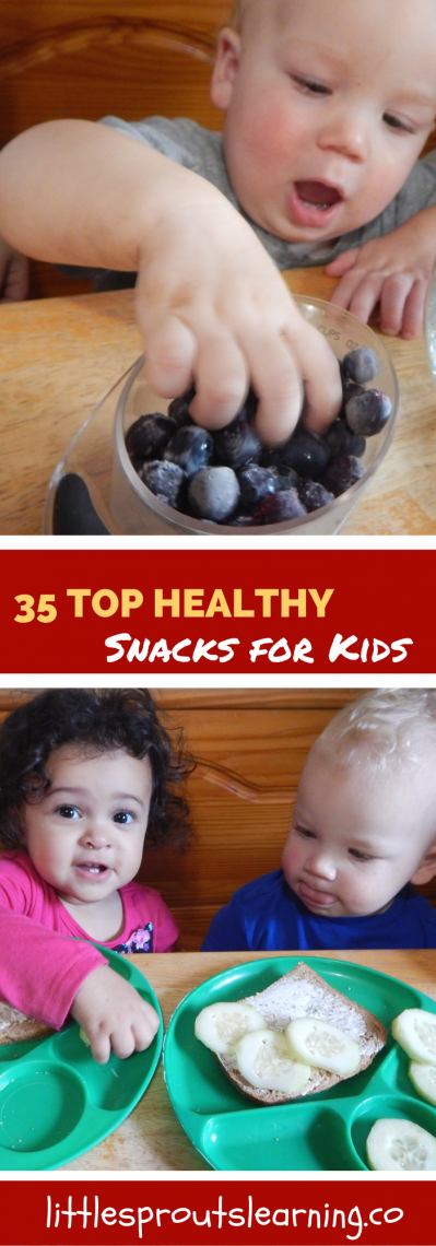 Top 35 Healthy Snacks for Kids