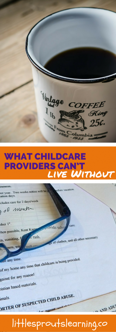 What Childcare Providers Can't Live Without