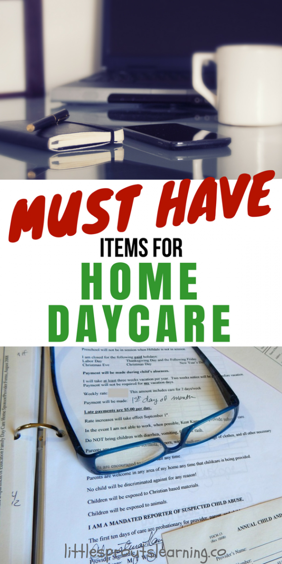 Must Have Items For Home Daycare