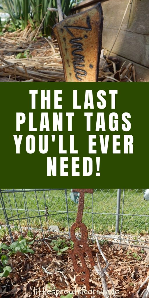 Isn't it hard to find a good garden plant tags? Store-bought ones can be adorable, but if you have a lot of area to cover, they will break the bank!