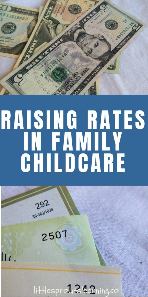 Are you afraid of raising rates in family childcare, but need to make more money to make ends meet? What are you afraid of?