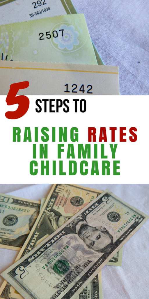 5 Steps to Raising Rates in Family Childcare