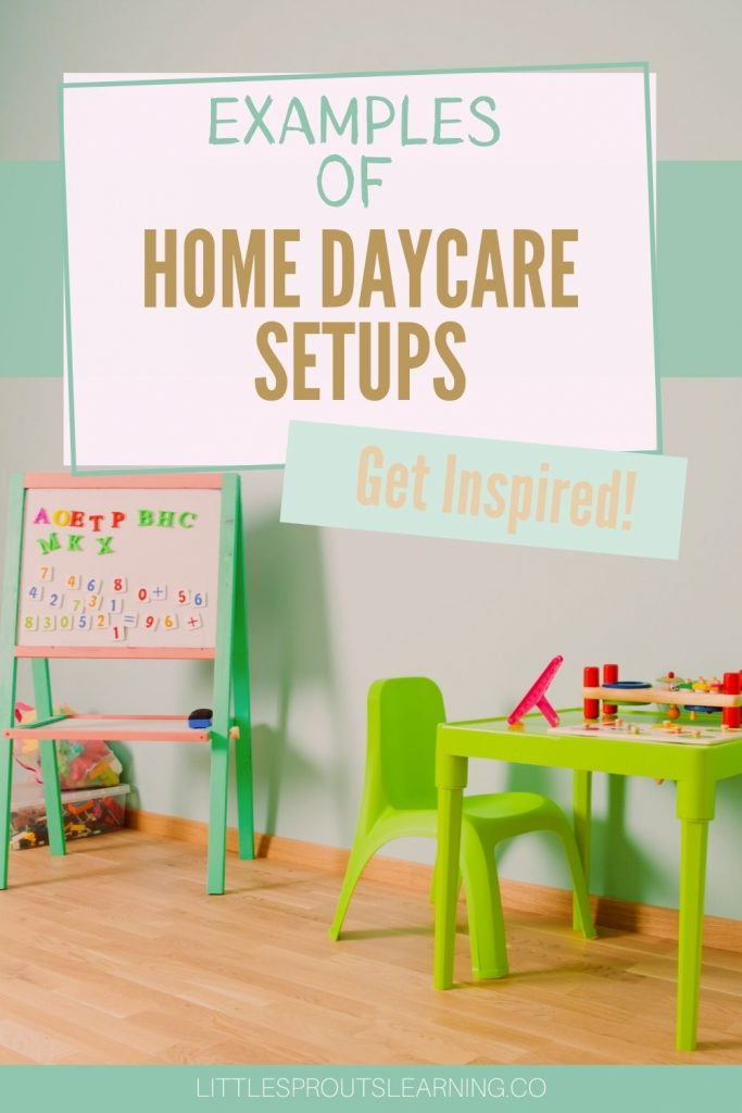 Your home daycare setup is the key to success. Environment is a huge part of behavior with kids. Find inspiration and examples here for running a home daycare in your home.