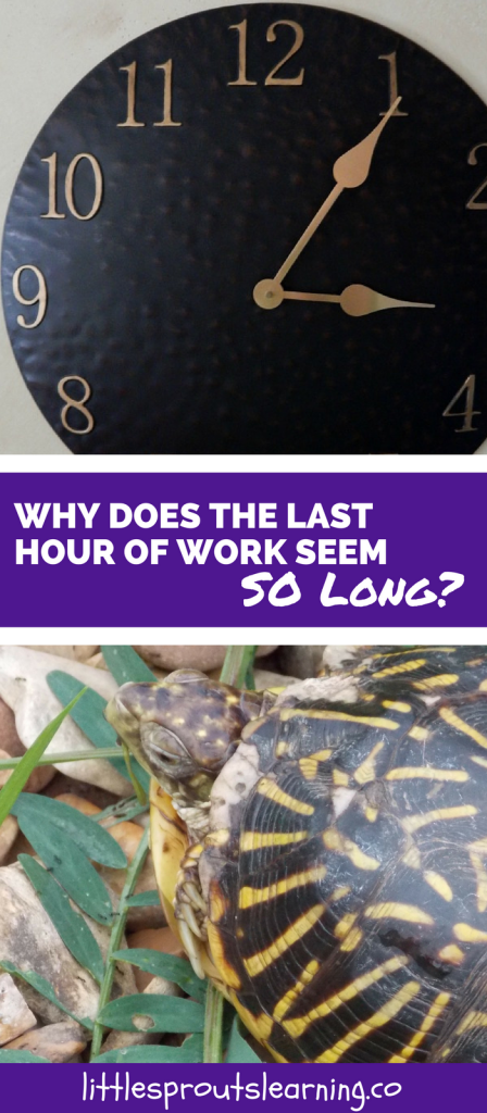 Why Does the Last Hour of Work in Childcare Seem SO Long?