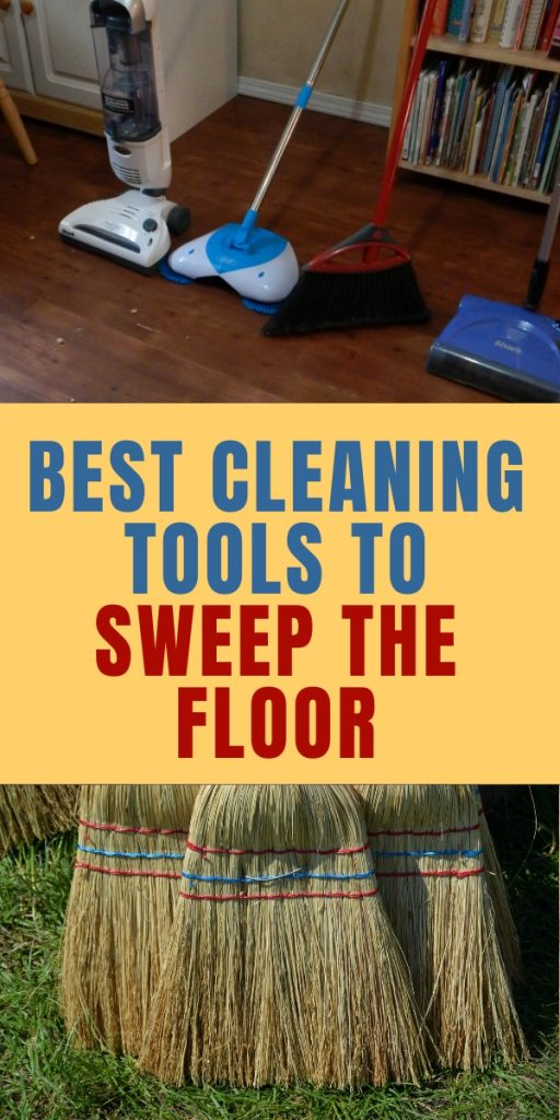 Do you hate to sweep the floor when you have kids to clean up after? I tested 4 sweepers under my kitchen table. Here's what I found out.