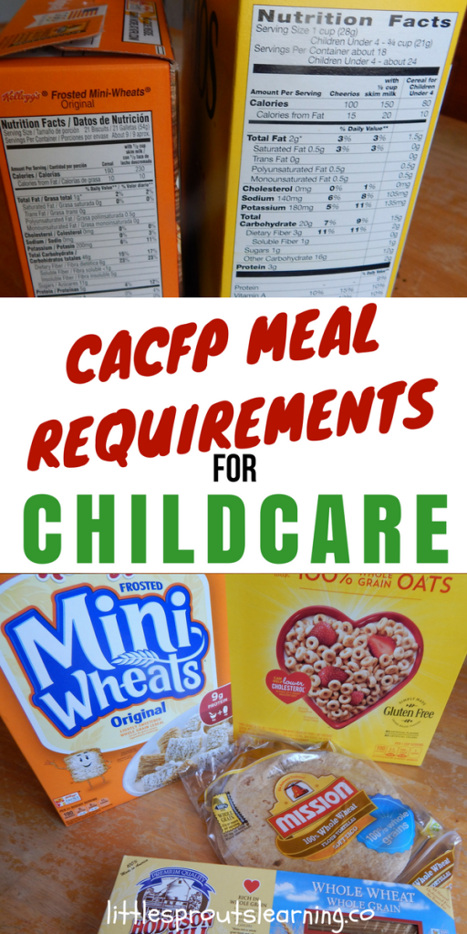The New CACFP Meal Requirements for Childcare Made Simple