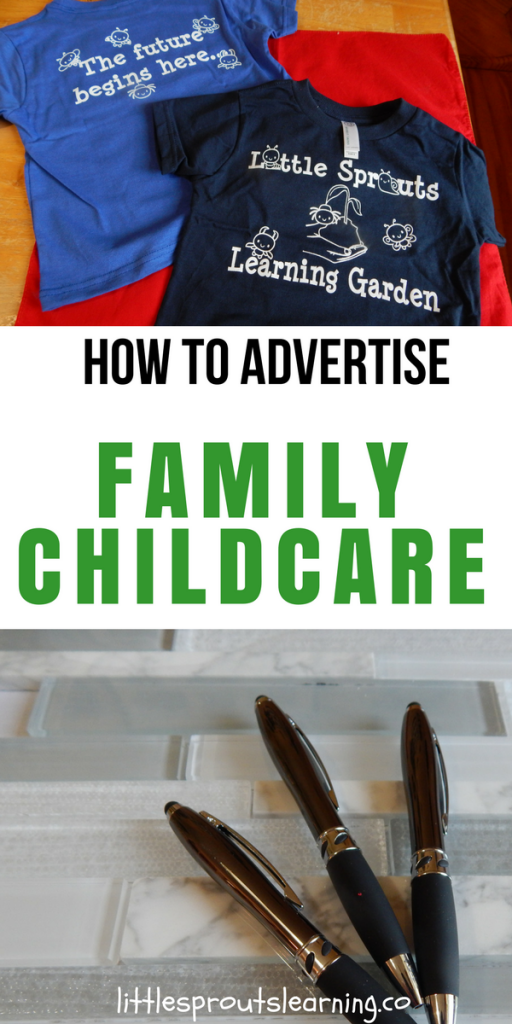 How to Advertise your Family Childcare