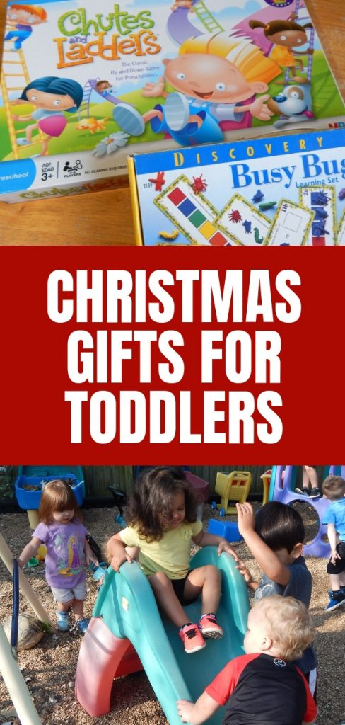 Coming up with great gift ideas for toddlers can be challenging. Find out what makes a great Christmas gift for a toddler here.