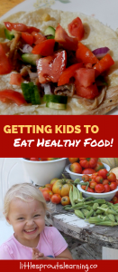 How to get kids to eat healthy food