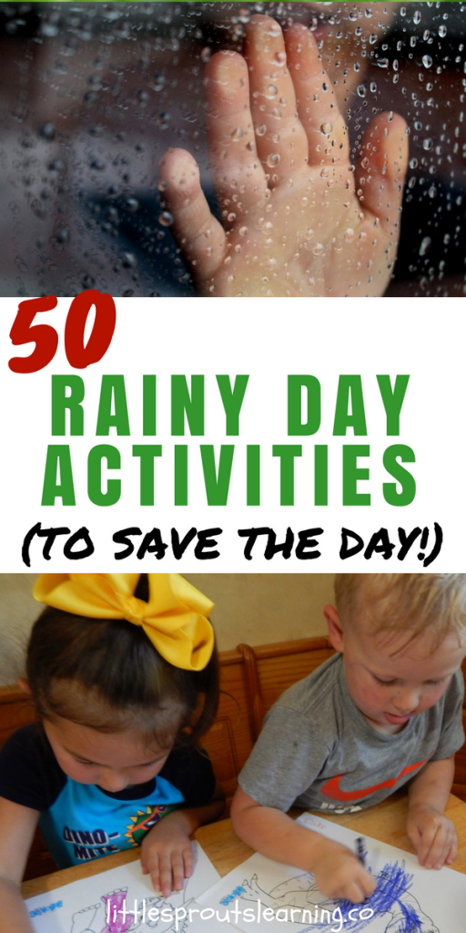 50 Rainy Day Activities (To Save the Day!)