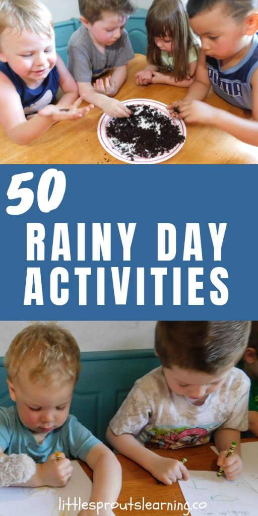When rain is in the forecast, do you panic a little? Sometimes a rainy day can spoil your plans, but with these rainy day activities, you don't have to have a boring day.