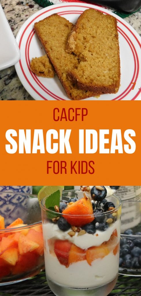 CACFP Snack Ideas for Childcare