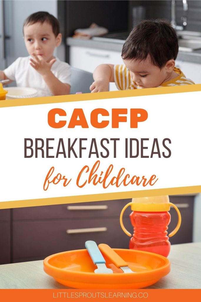 Do you need inspiration to come up with great breakfast ideas for your new childcare menu? Here are a few that might spark some ideas and make your meal planning easier for the CACFP meal requirements.