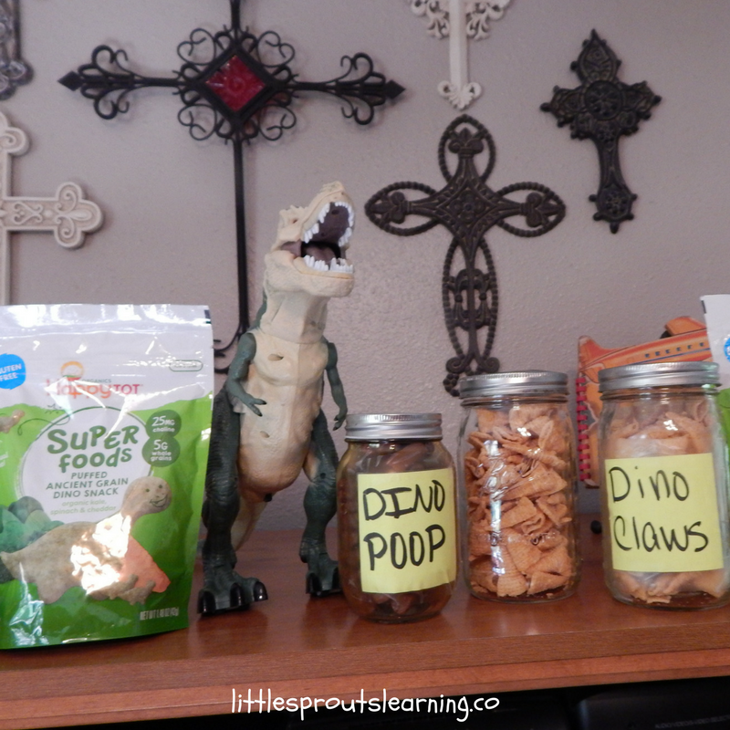 fun dinosaur party food