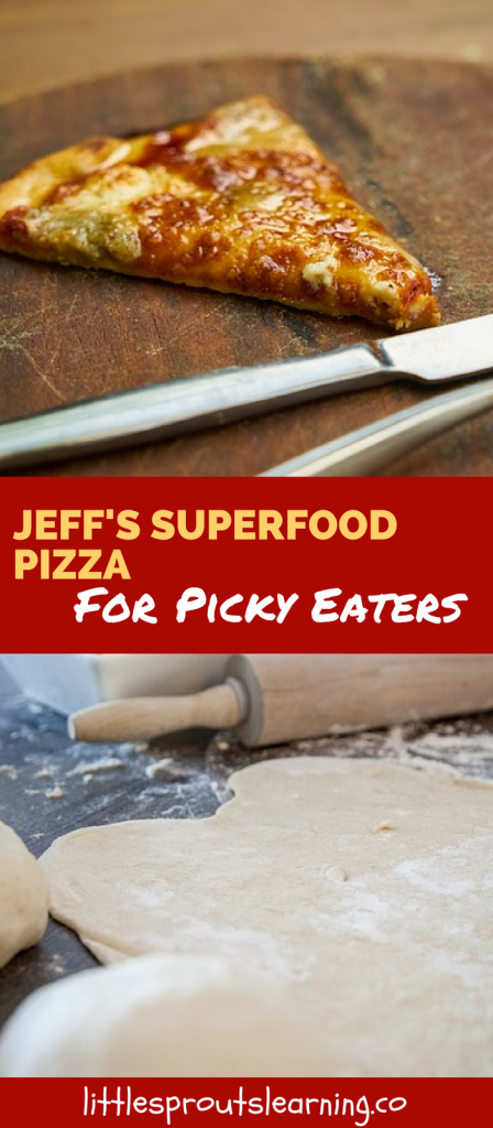 Jeff's Superfood Pizza for Picky Eaters