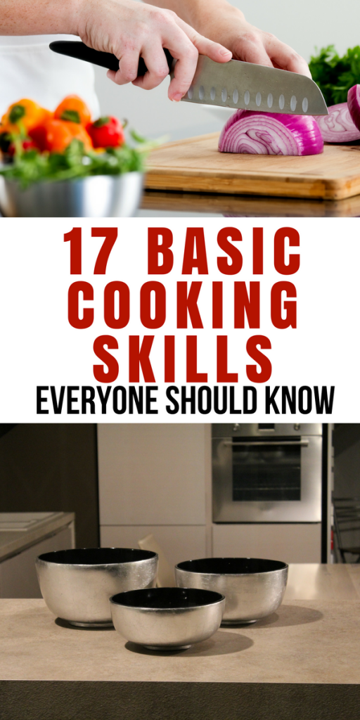 Youtube Cooking: 17 Basic Cooking Skills Everyone Should Know