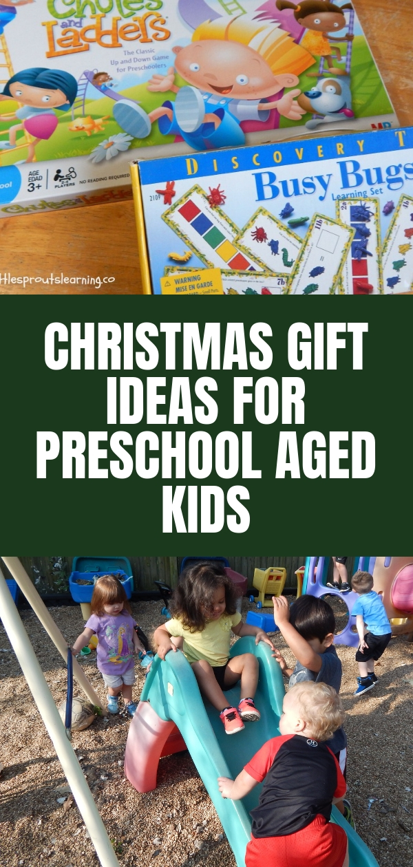 The Best Gifts For Preschoolers