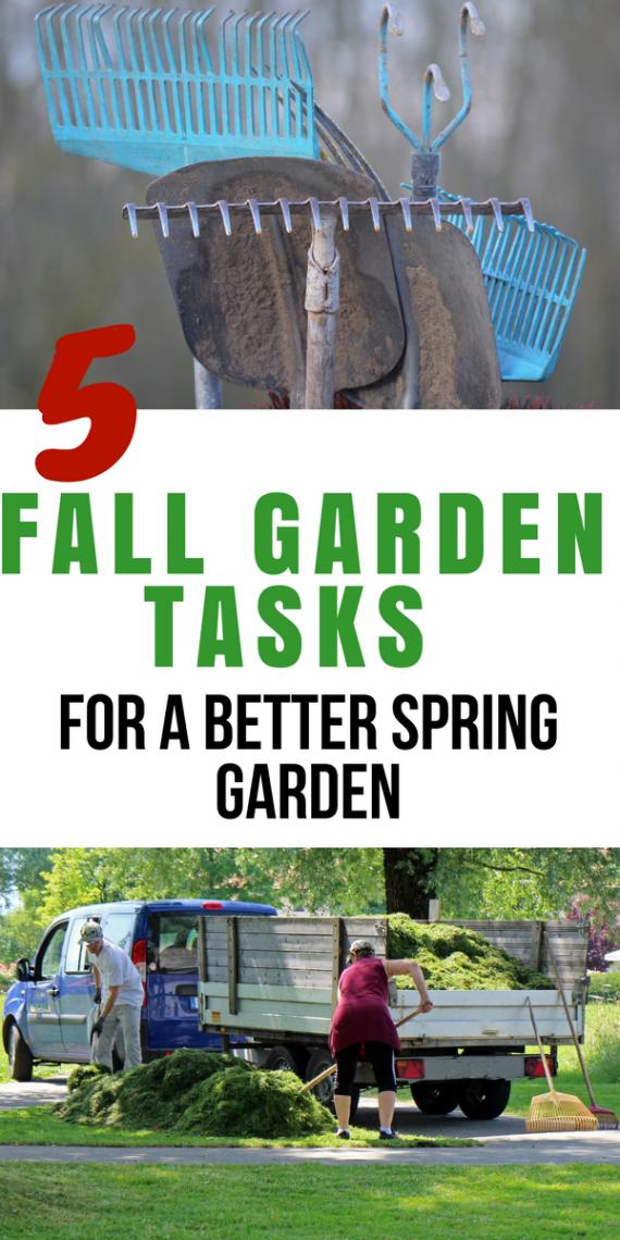 5 fall garden tasks for a better spring garden - Fall gardening tasks ...