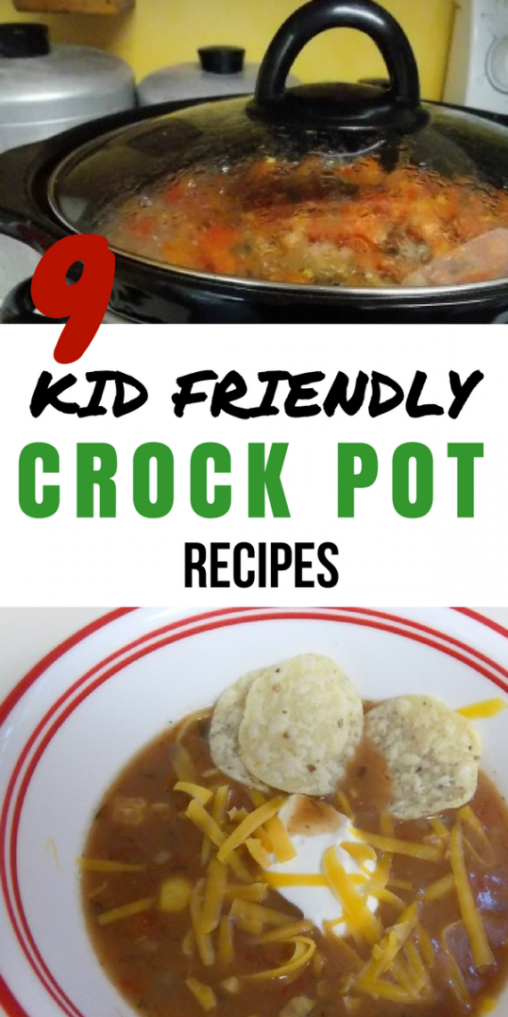 9 kid friendly crock pot recipes for Kid friendly meals for picky eaters