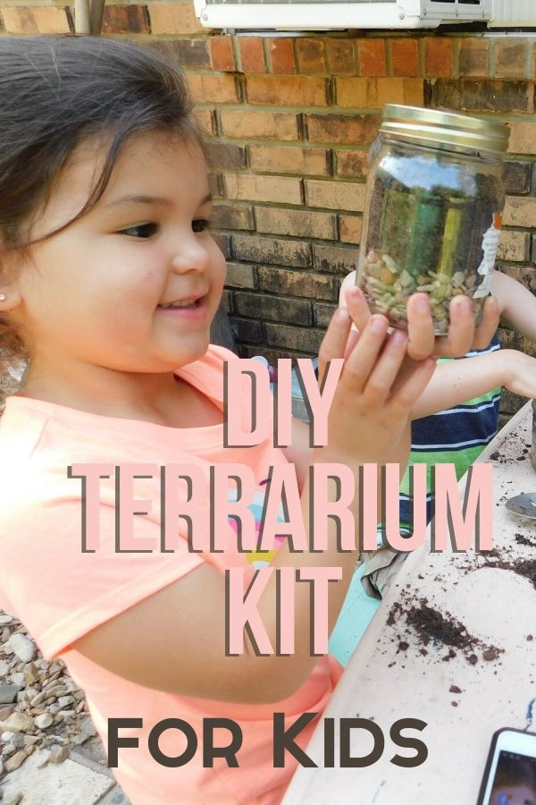 Would your kids love to grow their own plant eco-systems at home? Help them build these DIY terrarium kit for kids.