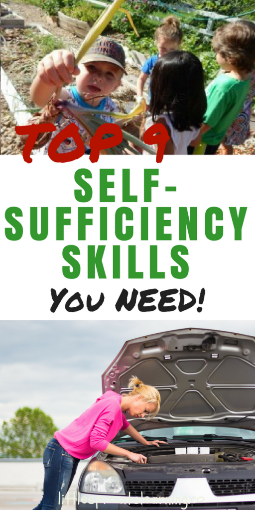 Top 9 Self-sufficiency skills you need