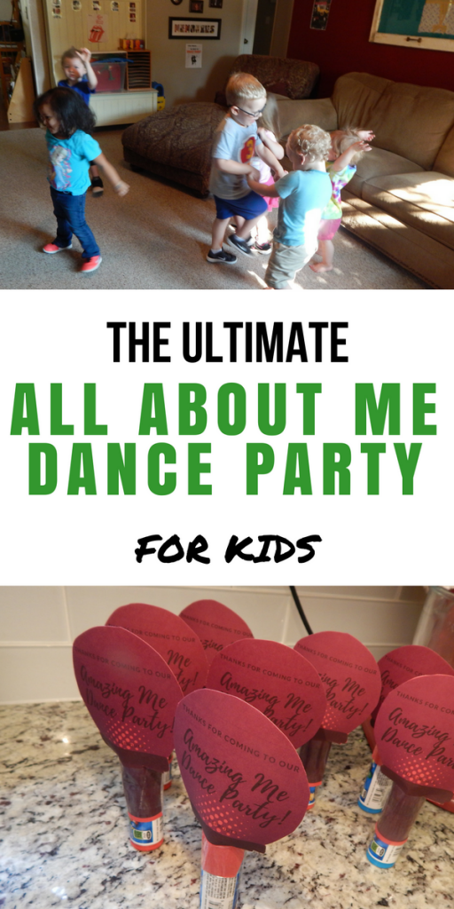 The Ultimate All About Me Dance Party for Kids