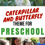 Caterpillar and Butterfly Theme for Preschool