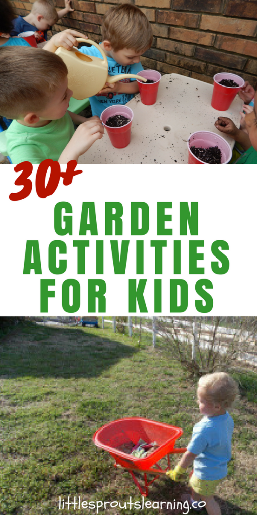 Getting kids outside for garden activities makes learning fun. The garden is full of learning and adding pre-planned activities helps kids learn even more.