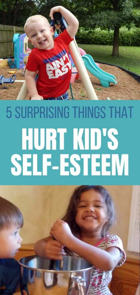 You might be surprised that some of the things we do to build confidence in our kids actually hurt's their self-esteem. Find out more.