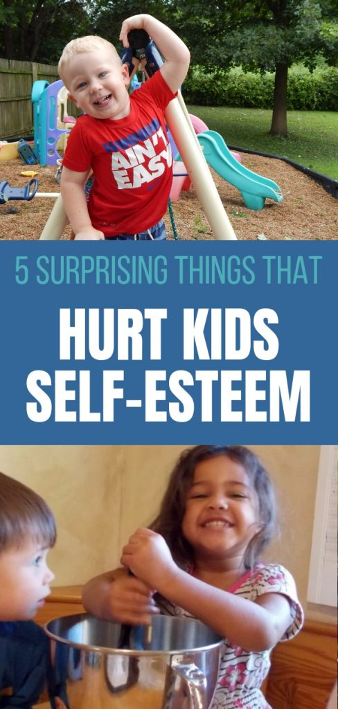 Hurt Kid's Self-Esteem
