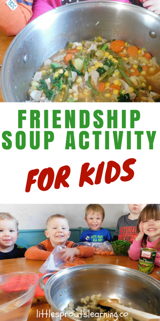 Friendship Soup Activity for Kids