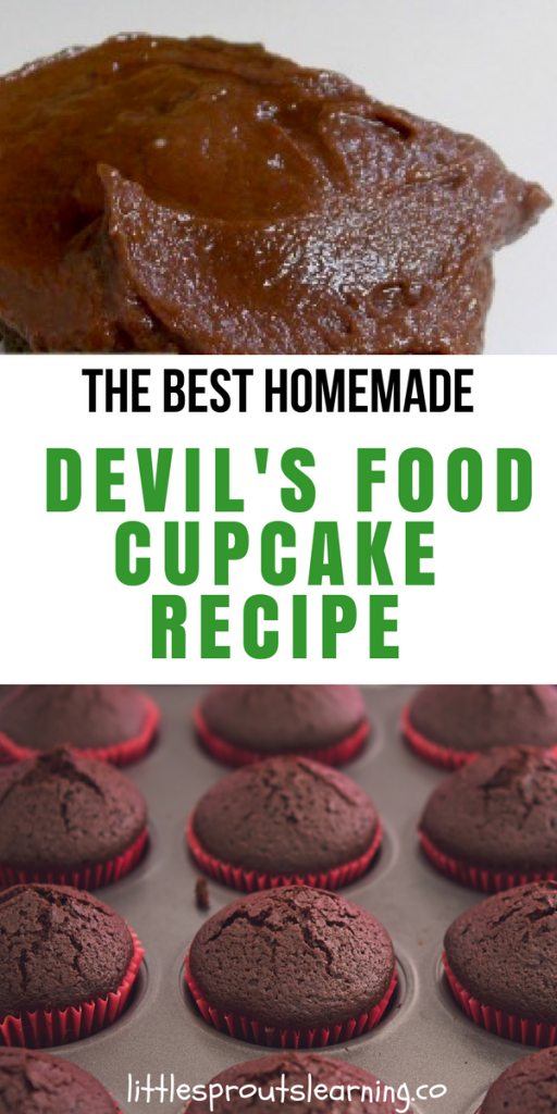 The Best Homemade Devil's Food Cupcake recipe