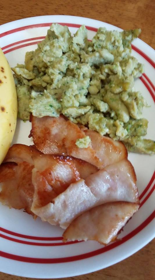 green eggs and ham made with natural ingredients for dr. seuss day